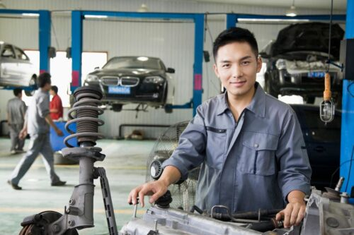 Automobile Car Repair Contacts List