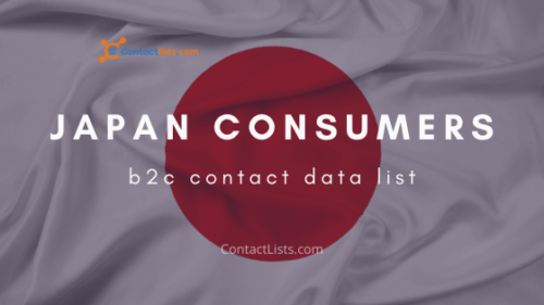 Japan Consumers Contact List