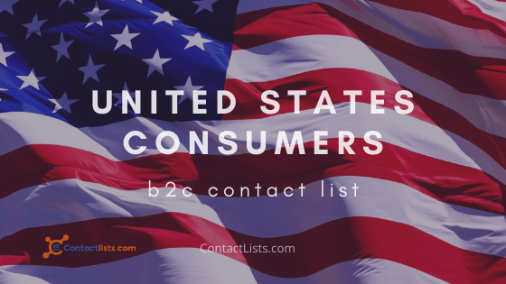 United States Consumers Email Database and Mailing List   ContactLists.com